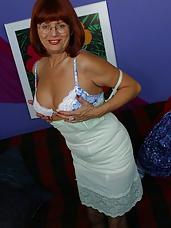 Vintage girdle mature
