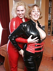 Barby & Claire In PVC