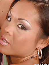 Oriental babe gets rammed