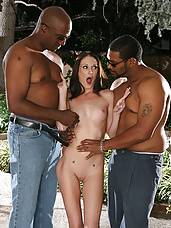 "Hailey Young in ""5-Guy Cream Pie"""