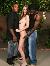 "Brooke in ""Inseminated By 2 Black Men"""