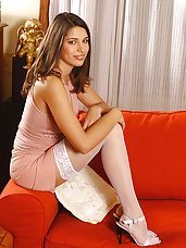 Zafira stockings & sexy legs