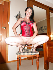 Housewife Posing