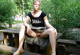 Outdoor Upskirt