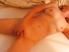 Wife Masturbating Homemade