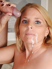 Milf Sky Martin Catches Joey Jerking It and gives him a handjob