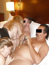 Four Some With Beefy Blonde