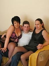 Sam, Dee & Kaz Orgy