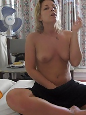 Pictures of a horny naked naughty cocksucking MILF