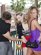2 super hot mini skirt milfs pounded hard against the couch screaming group sex cumfaced real amateur milf sex
