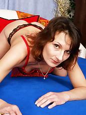 Horny Housewife Stepanka gets naughty all by herself