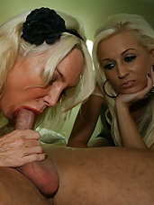 Mother Daughter Blowjob